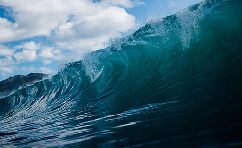 surf tides and waves