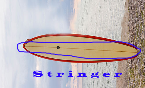surfboard stringer