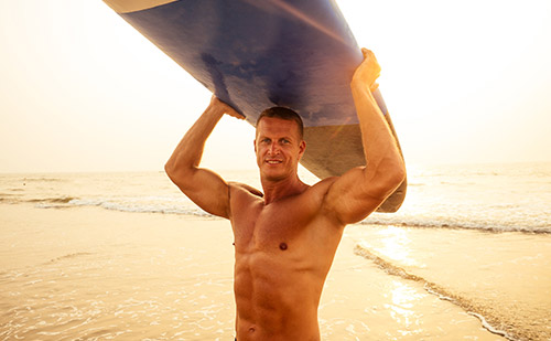 surfing exercises and fitness