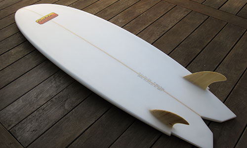 gable hybrid surfboard