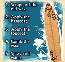 how to wax a surfboard tutorial